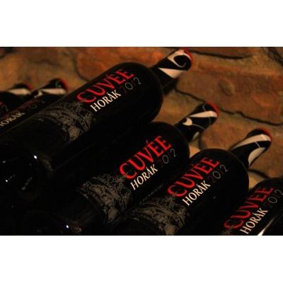 Cuvée Horák 2012 - CS + DOR - Vinařství Horák (Vrbice) - Vítěz kategorie červených suchých vín-KRÁL VÍN 2015