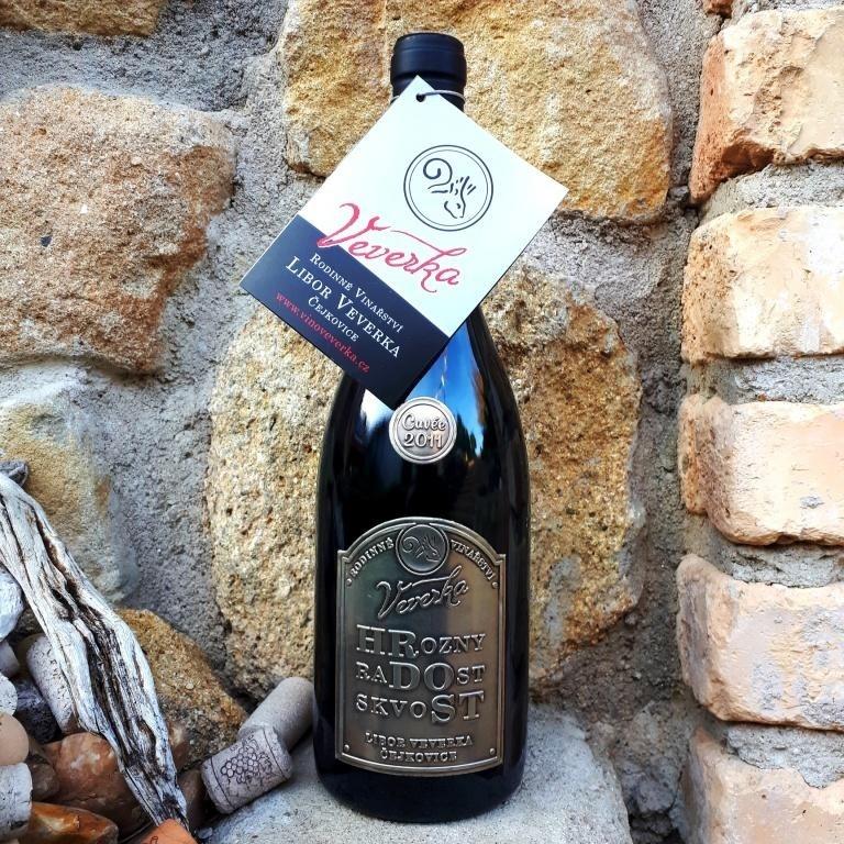 HRDOST cuvée 2011 - Vinařství Veverka - suché, známkové