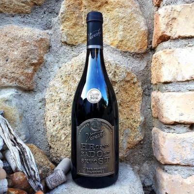 HRDOST cuvée 2015 - Vinařství Veverka - suché, známkové