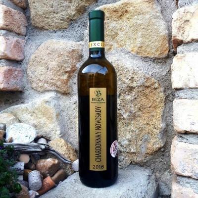 Chardonnay Novosady 2016 - Vinařství Bíza - suché, ps  -...