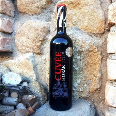Cuvée Horák 2015 - CS + DOR - Vinařství Horák - suché, ps