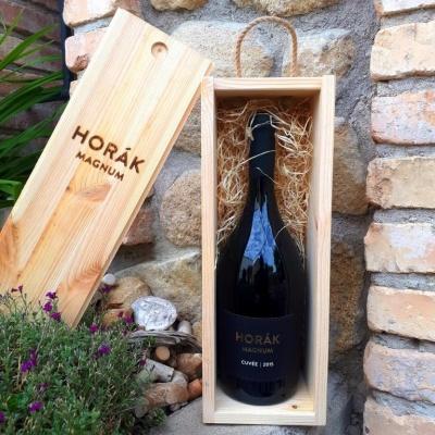 Cuvée Horák 2015 - MAGNUM - CS+DOR - Vinařství Horák - suché