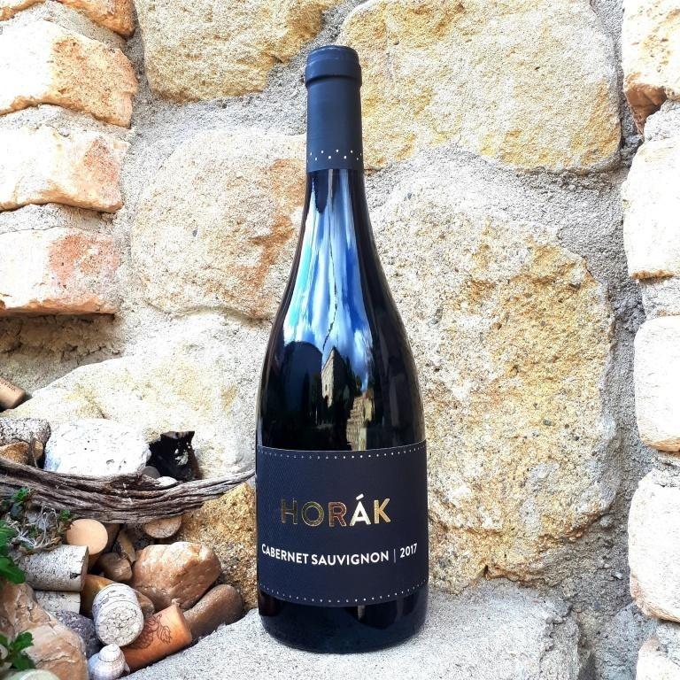 Cabernet Sauvignon 2018 - Vinařství Horák - suché, výběr z hroznů -  Zlatá medaile Festwine 2021